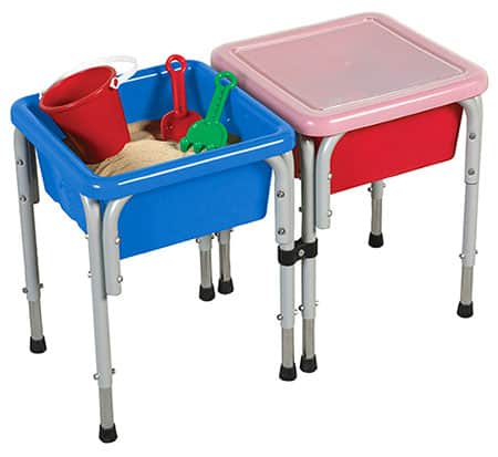 ECR4Kids Assorted Colors Sand and Water Play Table