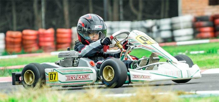kids racing kart