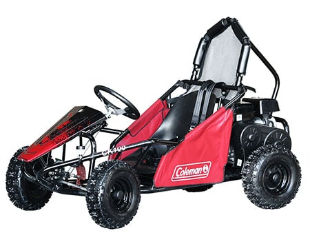 Coleman Powersports CK100-S Gas Powered Off Road Go Kart