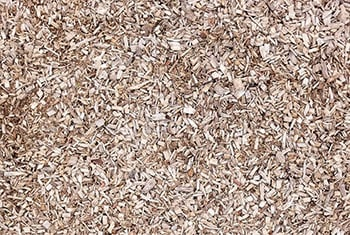 Wood chips or mulch provide good impact resistance