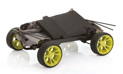 Folded Hauck Eco wagon
