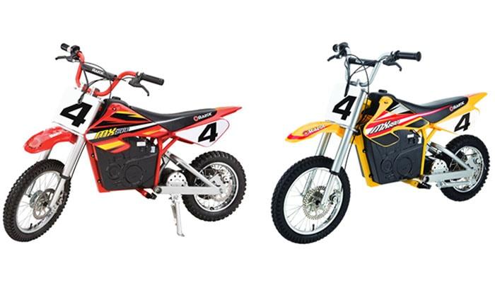 Razor MX500 vs MX650