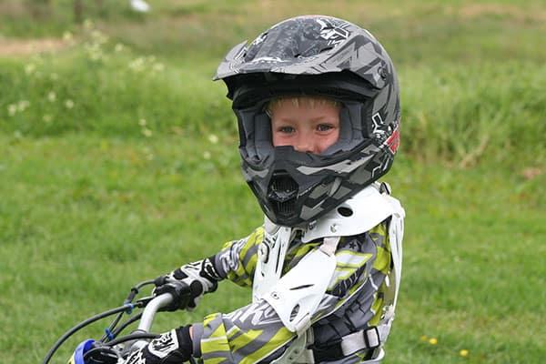 electric dirt bike helmet