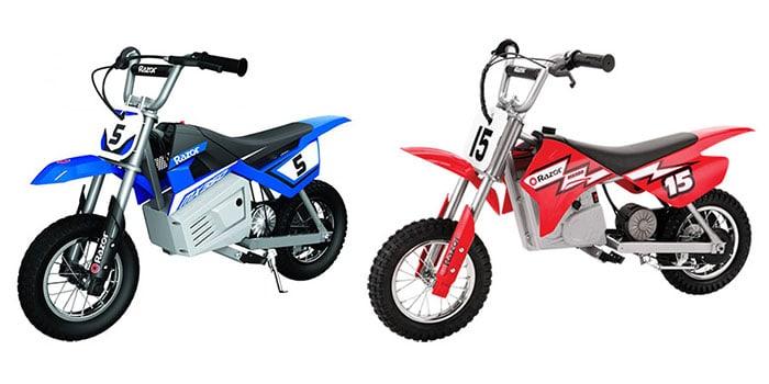 Razor MX350 vs MX400