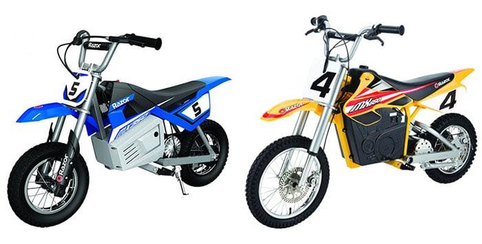 Razor MX350 vs MX650