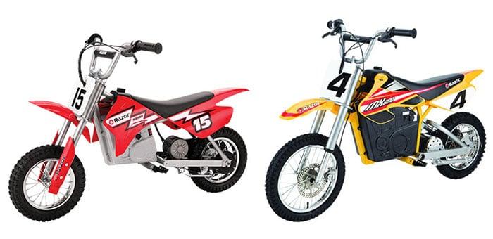Razor MX400 vs MX650